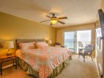 Guests in the master bedroom will love having direct access to the balcony.