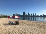 Swan River Foreshore - 5 minute drive
