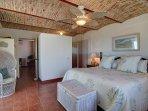 Huge master bedroom with full ensuite bathroom and ocean views
