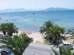 Beach of Aegina town
