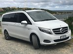 Mercedes Benz V Class 2017 People mover available for rental with enclosed trailer at no extra chge