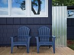 Back deck-for lounging.