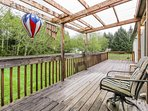 Dog-friendly, peaceful home just moments from beach, lake, and sights of Forks!