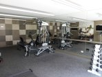Building amenities gym