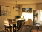 Dinning room with kitchen