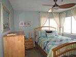 2nd bedroom, ceiling fan, overhead light
