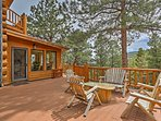 Tranquility awaits you at this 4-bedroom vacation rental cabin in Evergreen!
