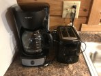 Coffee maker and Toaster