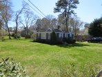 Large front Yard- 130 Belmont Road West Harwich Cape Cod New England Vacation Rentals