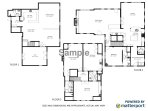 Floor Plan- all 3 levels Chatham Cape Cod New England Vacation Rentals