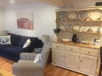 Lounge with dresser