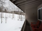 Two Private Balconies Overlooking Sunday River