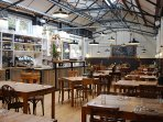 Just a 30 minuets drive away at Axminster is the Original 'River Cottage' Canteen & Deli