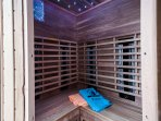 Spa with Sauna triple therapy