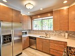 Cook your favorite flavors from home in this fully equipped kitchen.