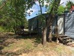 Cedar Breeze Cabin, many trees, sleeps 8, 10 miles to Turner Falls