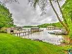 This property provides year-round deep water access for boating and swimming.