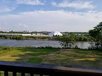 Skyline and Riverview from deck.