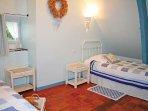 La chambre 'Rapsody in bleu'