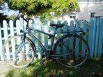 Nous fournissons des vélos pour vos balades.