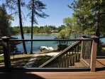 Private dock. Boat in photo is not available for guest use. Pine Mountain Lake Luxury Lakefront 50yds to the Marina...