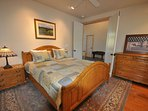Guest bedroom middle level, King. Marina Beach Lakefront Chateau. Luxury Lakefront Vacation Rental 50yds to the Marina...