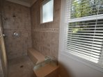Master Suite %352 bathroom. Marina Beach Lakefront Chateau.