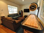 Gameroom, 1st floor. Marina Beach Lakefront Chateau. Luxury Lakefront Vacation Rental 50yds to the Marina Beach.