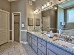 Villa Marseille - First Floor Master Bath Vanity Area