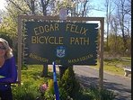 Bike path through farmland less than 1 mile from house.  Price includes two bikes for your use.