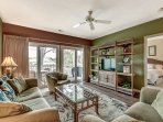 This sophisticated apartment offers spacious accommodations for  8!