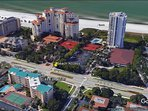 We are located literally steps to the Gulf of Mexico's warm waters ...