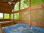 How about a little R&R in the hottub after your day of exploring in the Smokies.