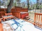 Bench,Park Bench,Yard,Flagstone,Furniture