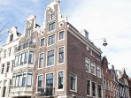 a real  Amsterdam Canal building right in the middel of the best area of the city the nine streets