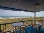 The Blue Parrot is an oceanfront beach condo made for those who love the beach