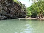 Float the Buffalo River.