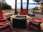 Patton beach is just 1 block away. Fire pits, cafe, and water toy rentals.
