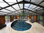 Welcome to your private heated indoor pool!