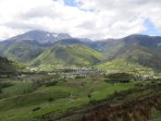 Arreau is nestled in the foothills of the Pyrenees, where two valleys meet.