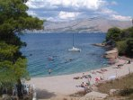 Beautiful beaches only 250 m from the Apartment.