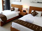 2 single beds for your extra guests