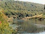 The River Wye at Redbrook