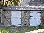 Stables at the bottom of the garden with exclusive use for guests in the right hand store