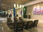 Waiting area at Main Lobby