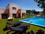 Stylish Pool Villa Litsarda Princess, Surrounded by Rich Green Flora