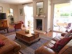 Spacious main house living room