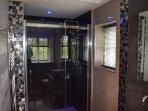Master bedroom's en suite shower