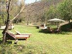 Casale Maggi , giardino