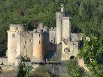 Château de BONAGUIL a quelques minutes à pied